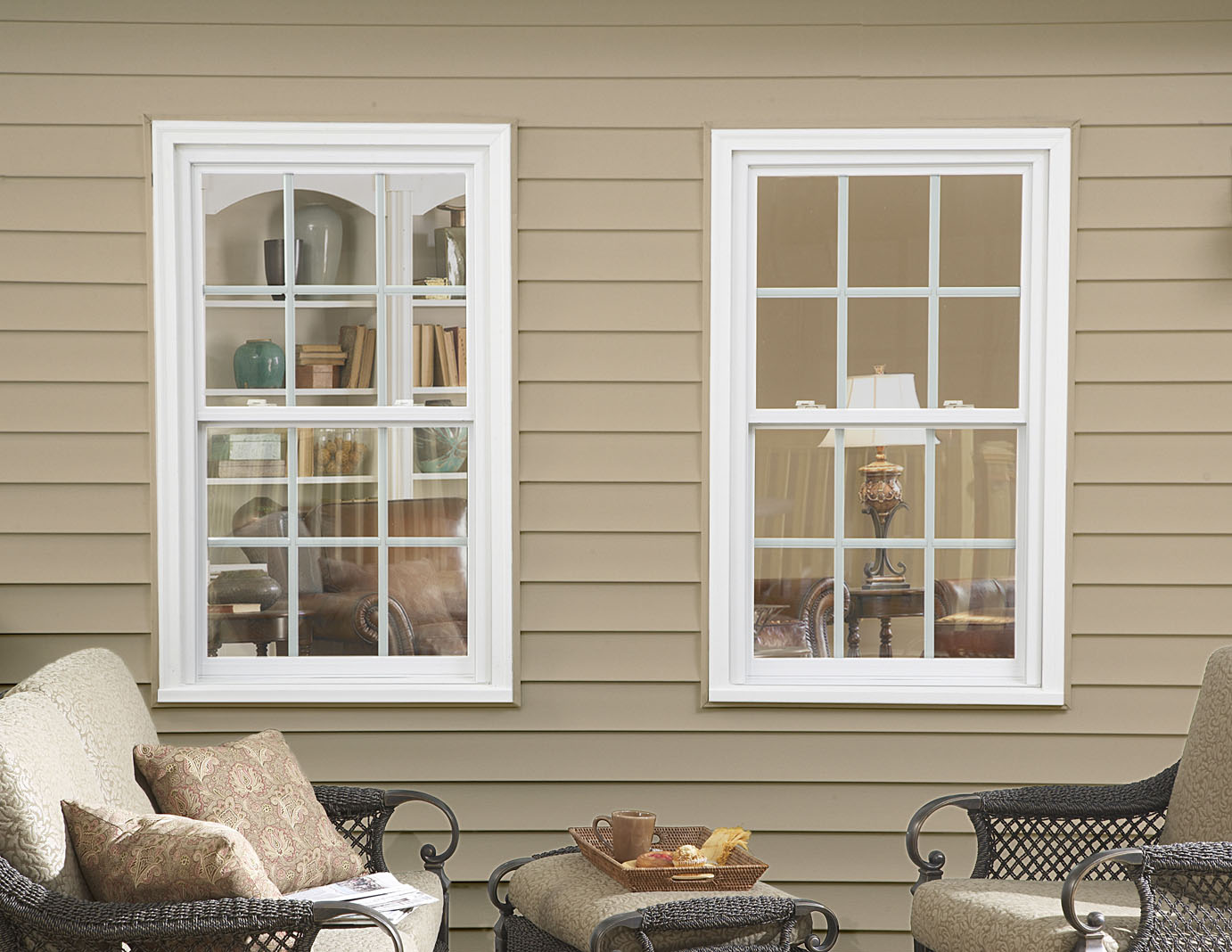 Exterior house windows house ideals for Windows for your home